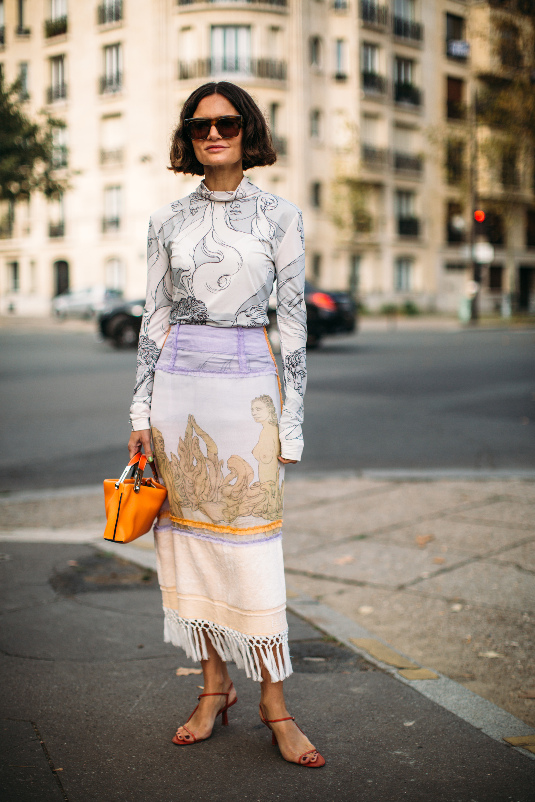 Best Street Style Looks of PFW Spring 2019