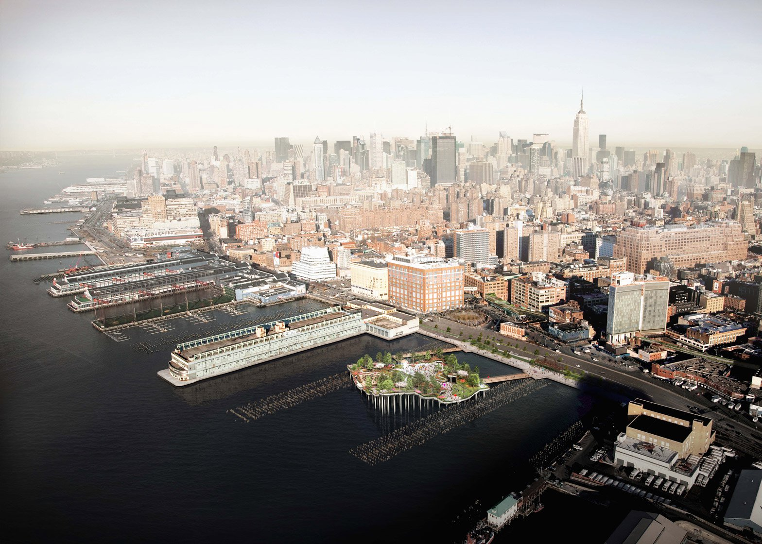 "Thomas Heatherwick saddened after plans for New York ""treasure island"" are scrapped"