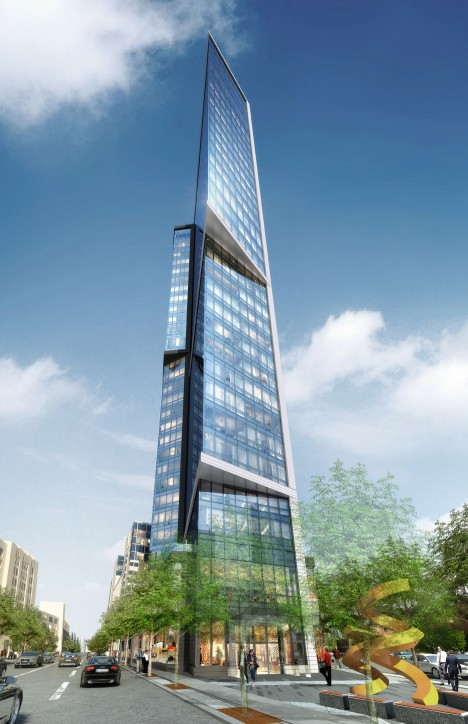Arquitectonica's Pierce Boston tower to feature apartments aimed at young tech entrepreneurs