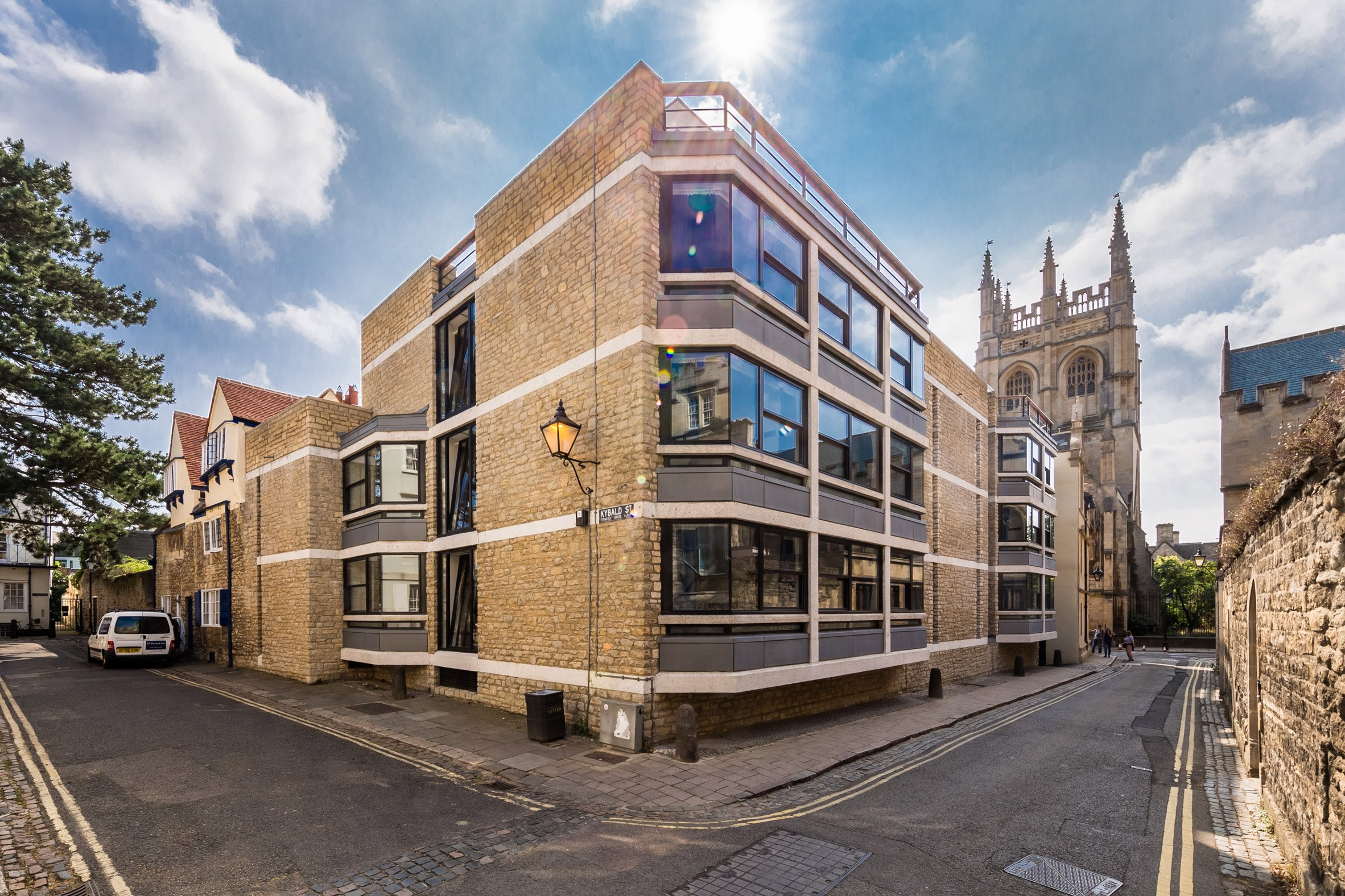 Berman Guedes Stretton upgrades Powell & Moya's modernist University of Oxford buildings