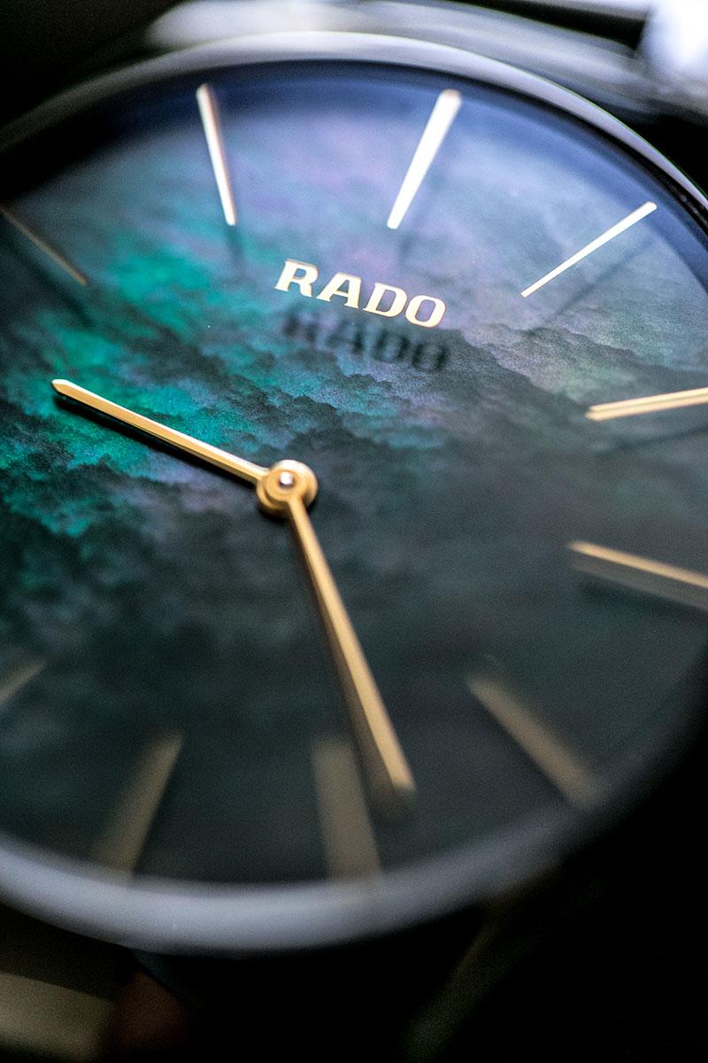 Rado True Thinline – ein grüner Zeitmesser