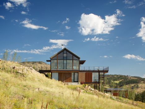 Renée del Gaudio builds Colorado home on land devastated by forest fire