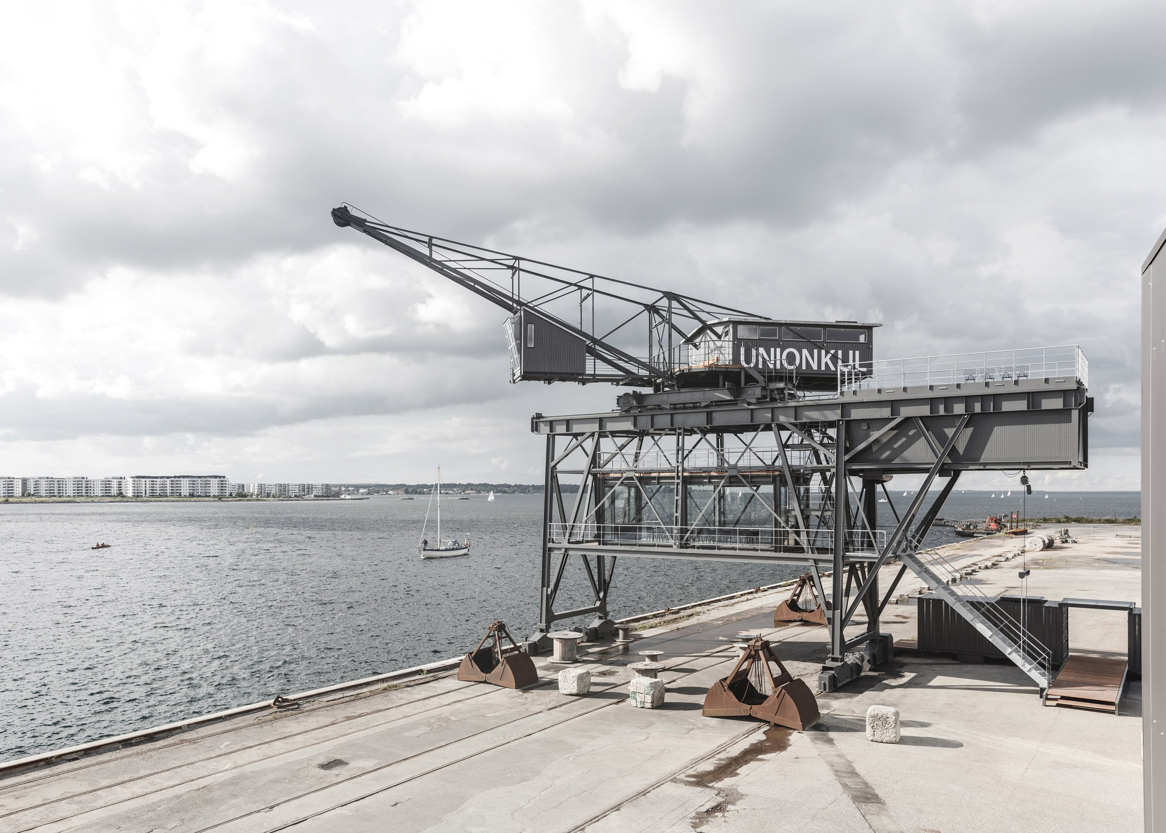 Arcgency transforms former Copenhagen coal crane into private retreat