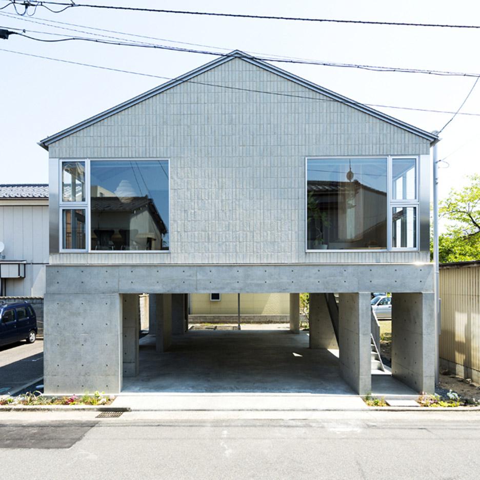 Tatami mats create gridded layout for Kenrak Tokmoto's Inari House