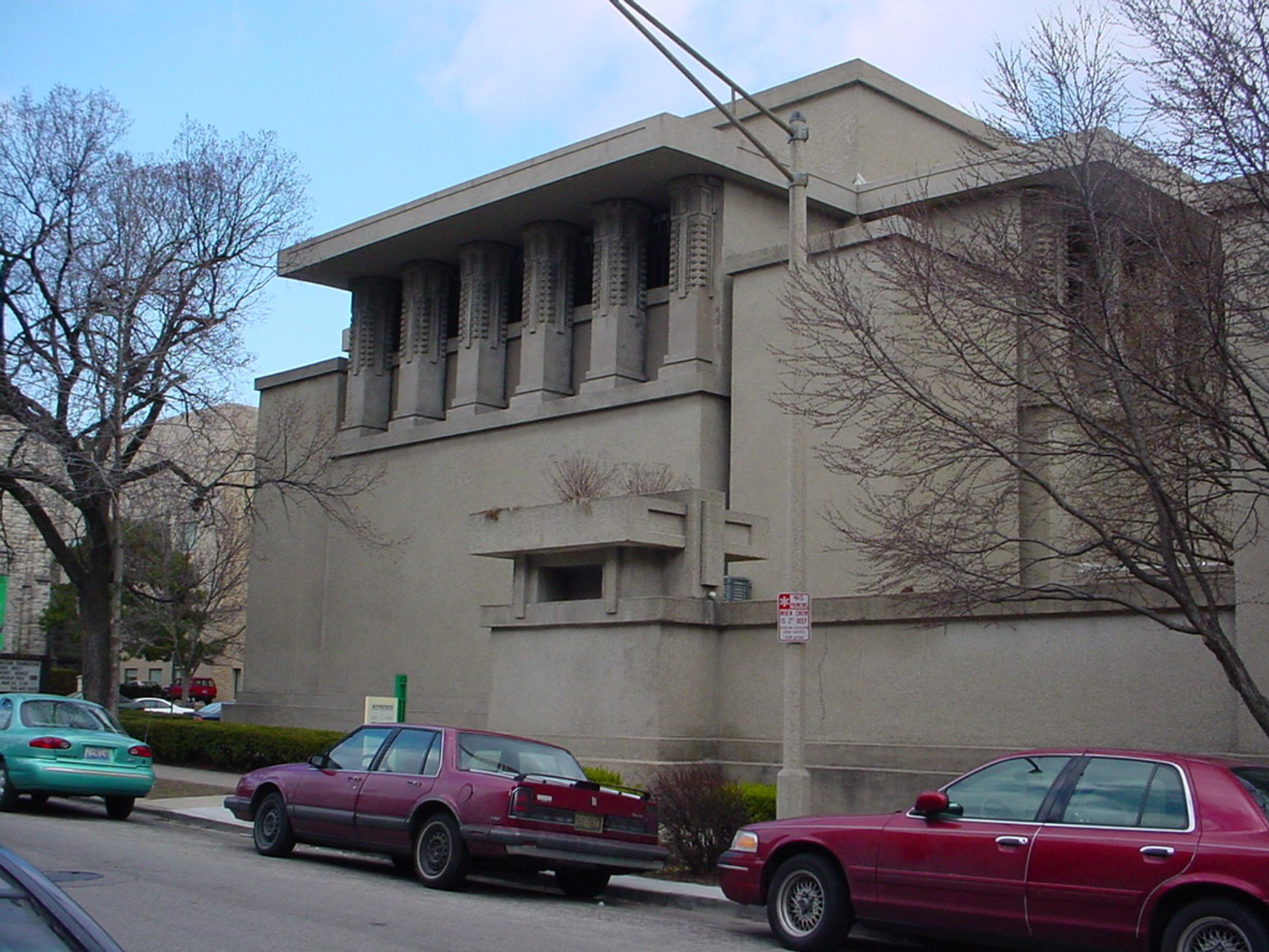 """Frank Lloyd Wright's Unity Temple was the """"first expression"""" of modern architecture"""