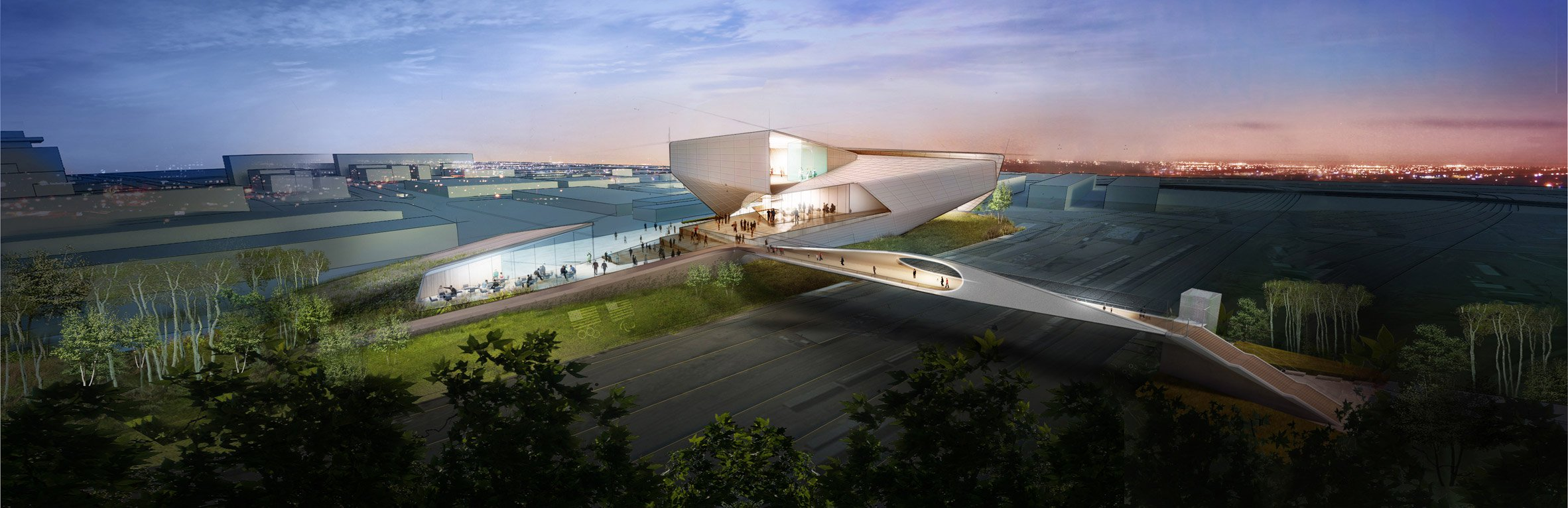 Diller Scofidio + Renfro's US Olympic Museum breaks ground
