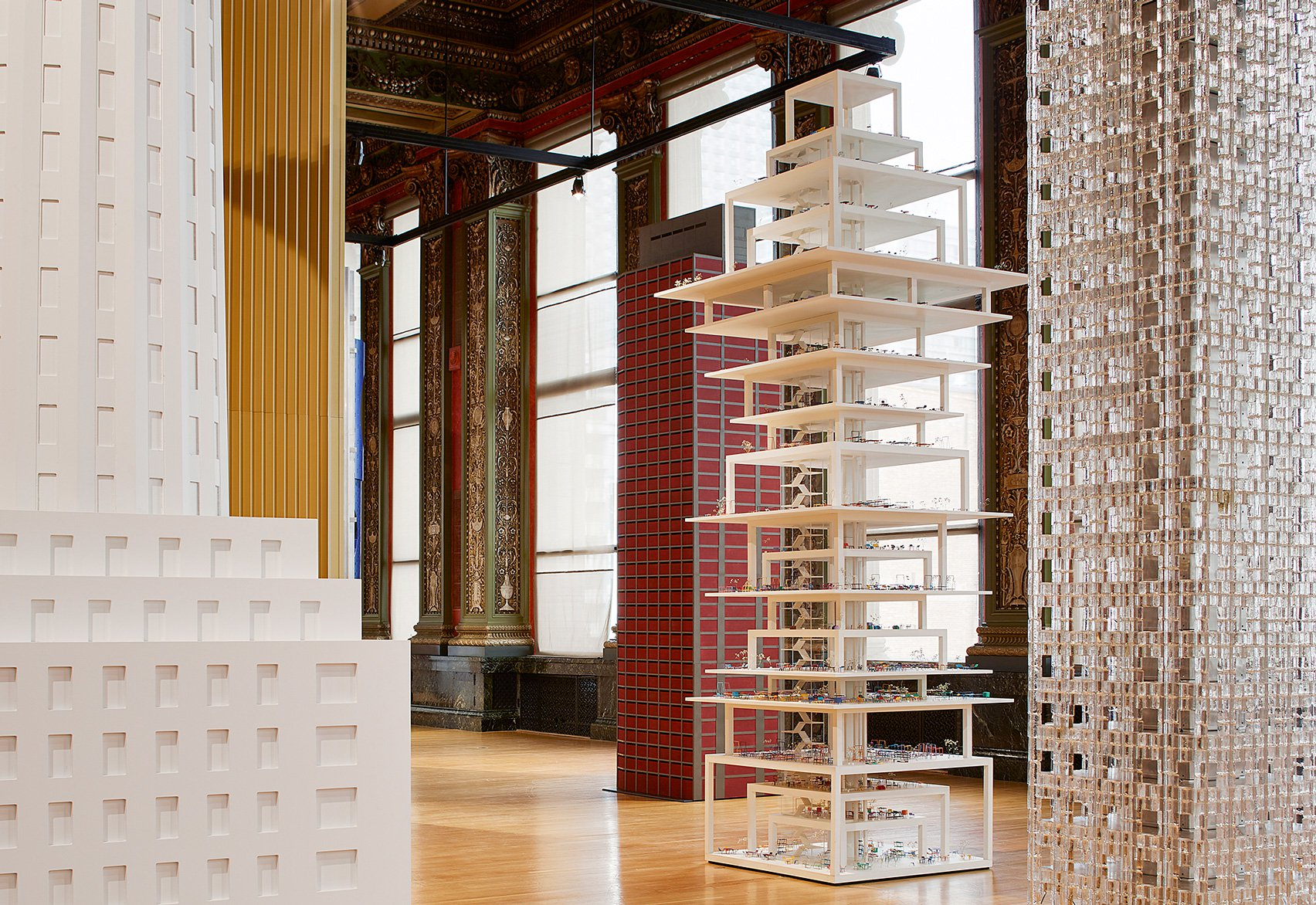 Architects reimagine Chicago's Tribune Tower with abstract skyscraper models
