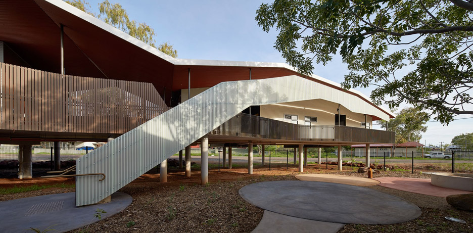 Iredale Pedersen Hook creates Walumba Elders Centre for flood-hit Australian aboriginal community