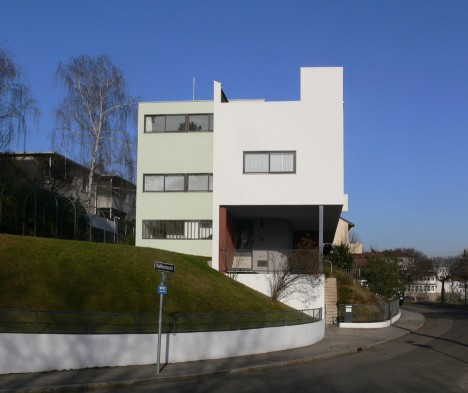 Le Corbusier's Weissenhof Estate in Stuttgart was part of a Modernist housing exhibition