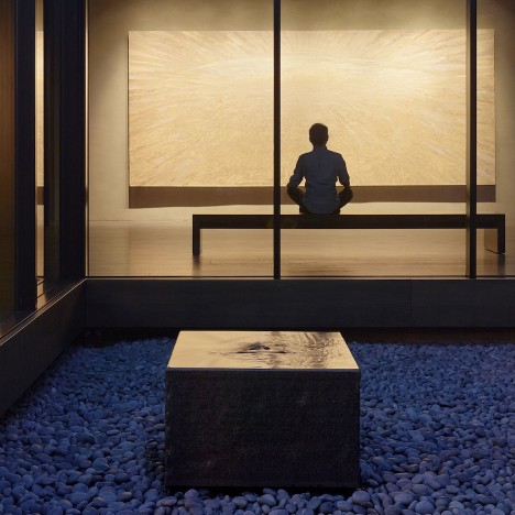 Today we like: meditation spaces