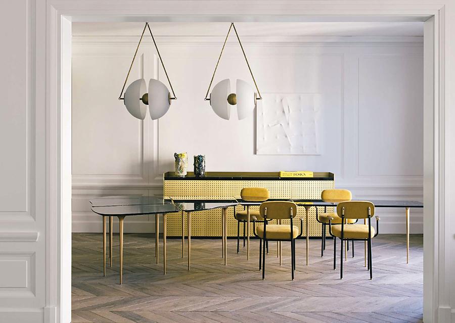 Using yellow in interiors