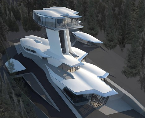 "Norman Foster discusses Zaha Hadid's ""extraordinary"" Capital Hill Residence"